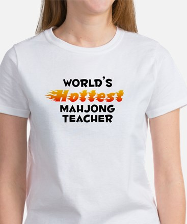 World's Hottest Mahjo.. (B) Women's T-Shirt