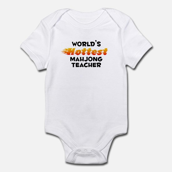 World's Hottest Mahjo.. (B) Infant Bodysuit