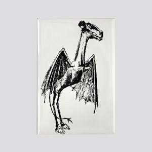 Jersey Devil Rectangle Magnet