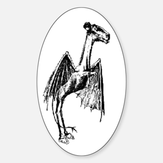 Jersey Devil Oval Decal