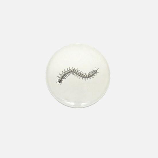 Great Sea-Centipede Mini Button