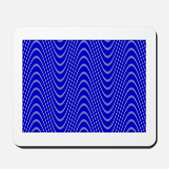 Sine wave illusion Mousepad