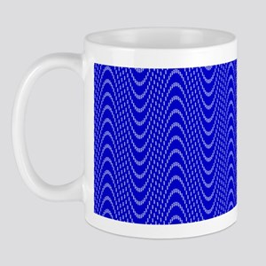 Sine wave illusion Mug