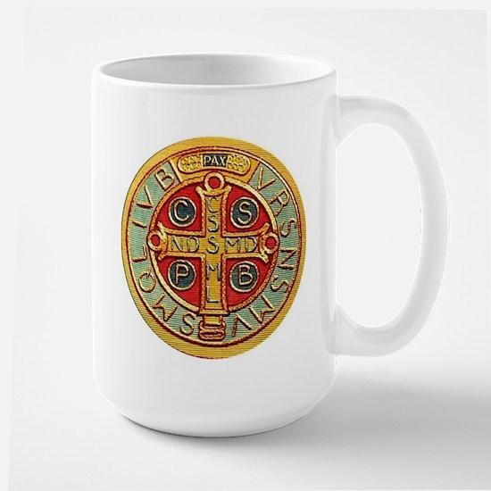 Medal of Saint Benedict Mugs