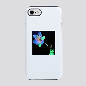 Blacklight Flower iPhone 8/7 Tough Case
