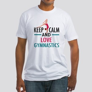 Love Gymnastics Fitted T-Shirt