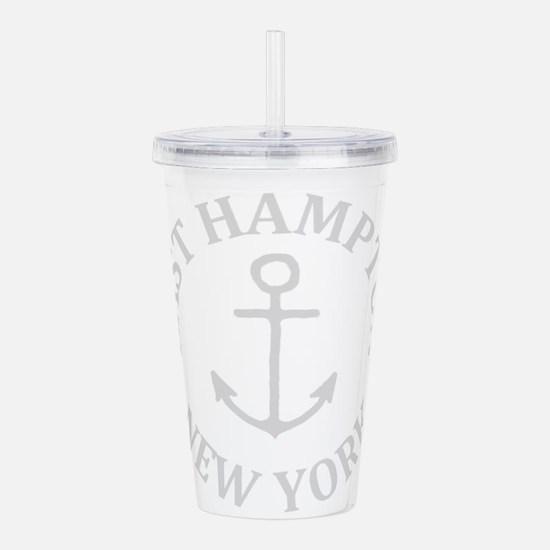 Summer East Hampton- N Acrylic Double-wall Tumbler