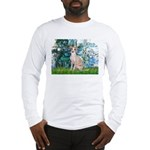 Lilies / Ital Greyhound Long Sleeve T-Shirt