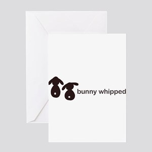 bunny whipped Greeting Card
