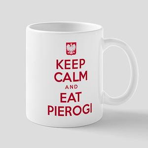 Keep Calm Eat Pierogi Mugs