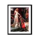 Accolade / Ital Greyhound Framed Panel Print