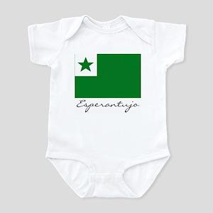 Flag of Esperantoland Infant Bodysuit
