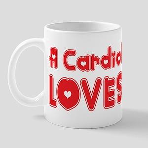 A Cardiologist Loves Me Mug