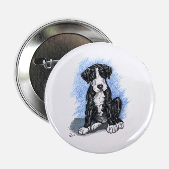 N Mantlepup Great Dane Button