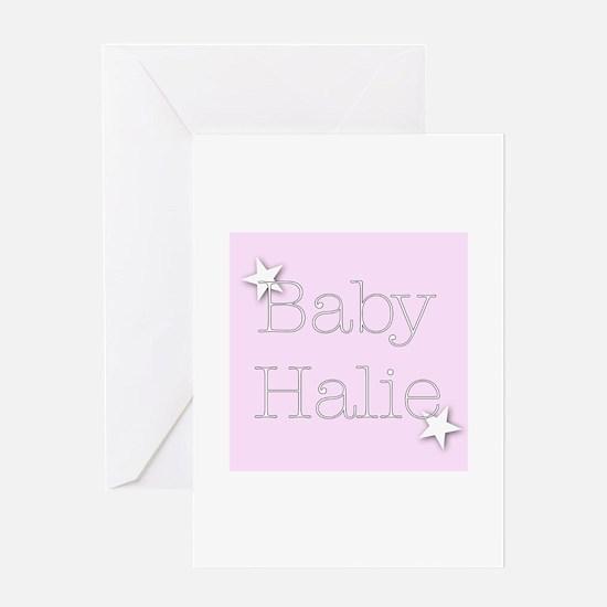 Cute Halie Greeting Card