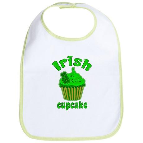 Lucky Irish Cupcake Bib
