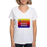 Science Officer Women's V-Neck T-Shirt