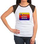 Science Officer Women's Cap Sleeve T-Shirt