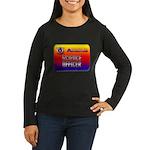Science Officer Women's Long Sleeve Dark T-Shirt