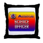 Science Officer Throw Pillow