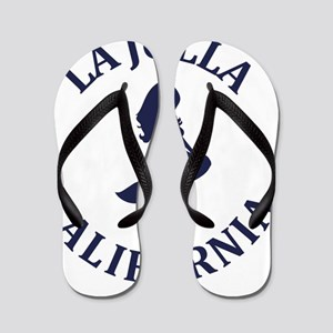 2aa0f6954a4c La Jolla Flip Flops - CafePress