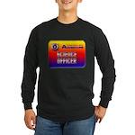 Science Officer Long Sleeve Dark T-Shirt