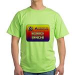 Science Officer Green T-Shirt