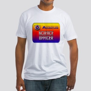 Science Officer Fitted T-Shirt