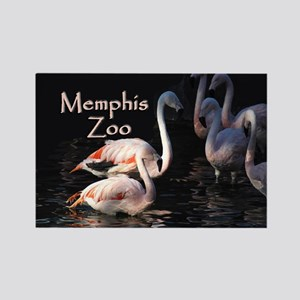 Memphis Zoo Rectangle Magnet