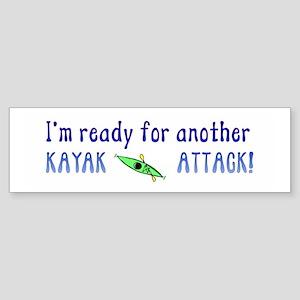 Kayak Attack Sticker (Bumper)
