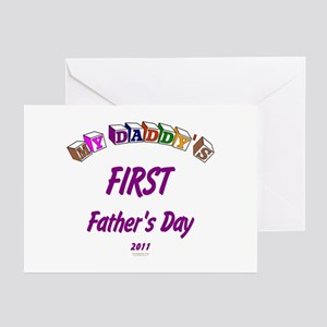 First Father's Day Greeting Cards (Pk of 10)