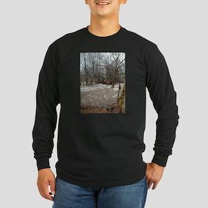 Flooding after the storm Long Sleeve Dark T-Shirt