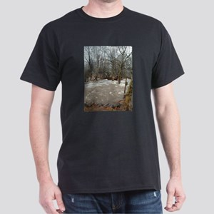 Flooding after the storm Dark T-Shirt