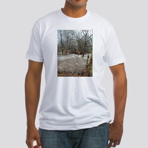 Flooding after the storm Fitted T-Shirt