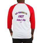 First Father's Day Baseball Jersey