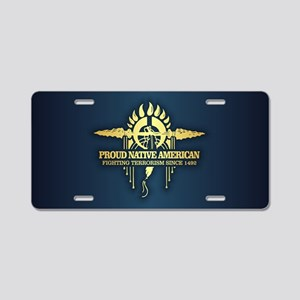 PNA Fighting Terrorism Aluminum License Plate