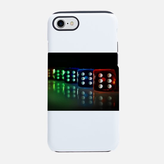 Neon Black Light Die iPhone 8/7 Tough Case
