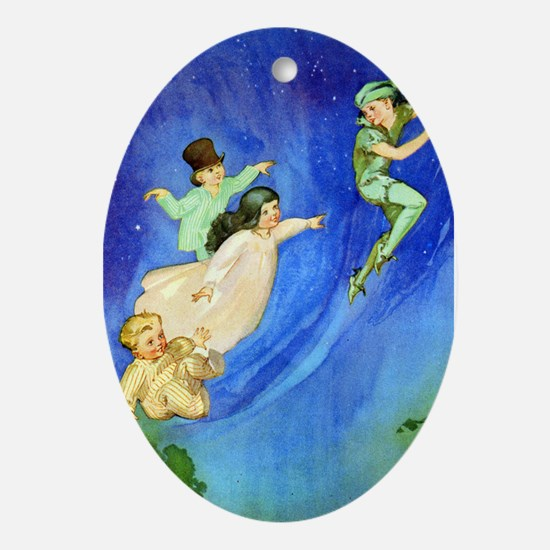 PETER PAN - FLYING Ornament (Oval)