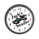 Jack's Studio Personalized Wall Clock