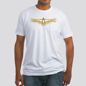 Chumash Indian Condor Fitted T-Shirt