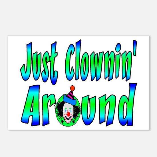 Clownin Around Postcards (Package of 8)