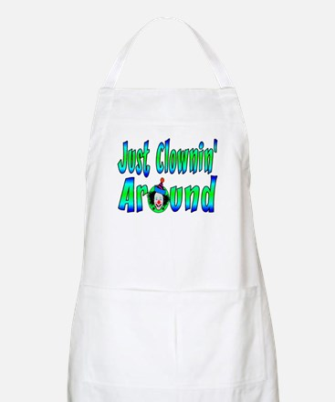 Clownin Around BBQ Apron