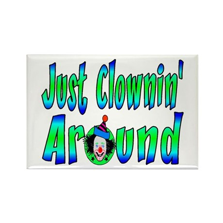 Clownin Around Rectangle Magnet (100 pack)