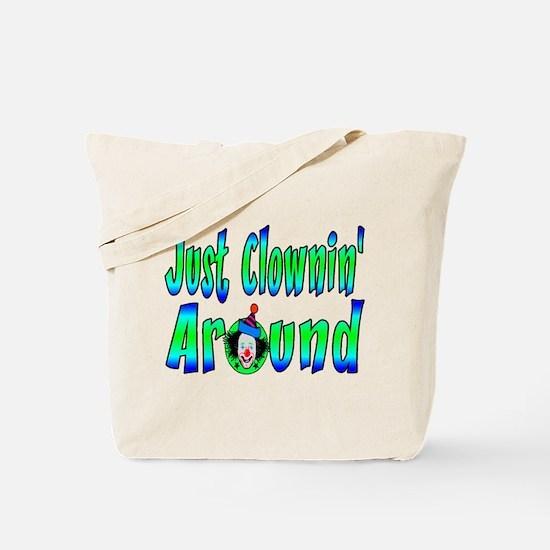 Clownin Around Tote Bag
