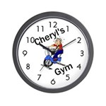 Personalized Gym Wall Clock