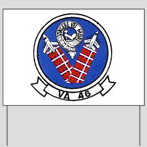 VA 46 Clansmen Yard Sign
