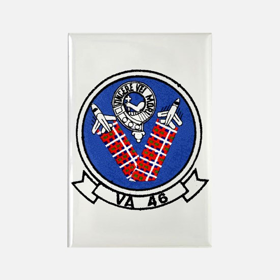 VA 46 Clansmen Rectangle Magnet