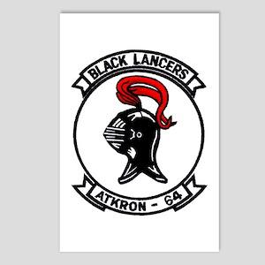VA 64 Black Lancers Postcards (Package of 8)