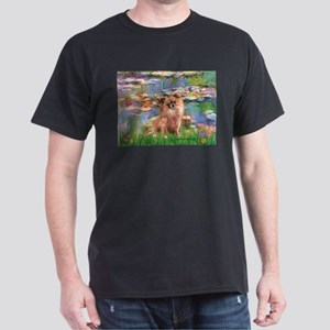 Lilies / Chihuahua (lh) Dark T-Shirt