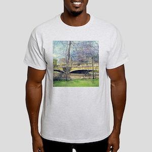Old Stone Bridge Ash Grey T-Shirt